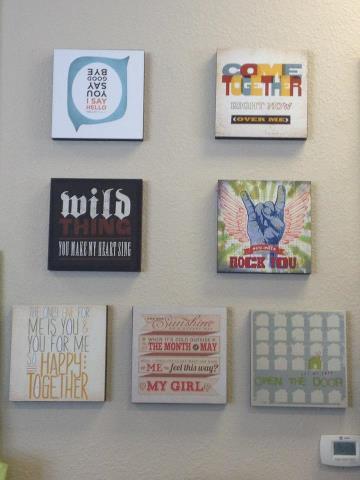 Brand New Wall Art in Destin Gift Store