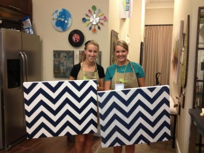The Pinterest Party was a Success