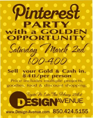 March Pinterest Party